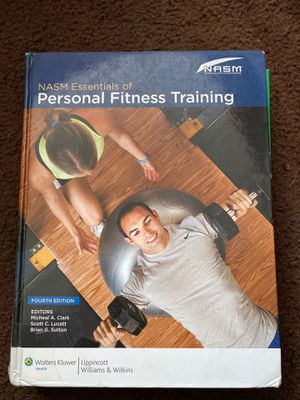 NASM Essentials of Personal Fitness Training for Sale in Lakewood, CA