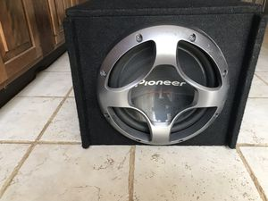 Car audio subwoofer for Sale in Sterling, VA
