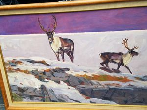 Original Oil Painting James G. SCOTT for Sale in US