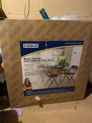 Cosco table and chair set still in box. for Sale in South Brunswick Township, NJ