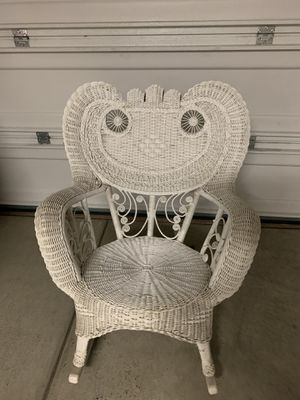 Rattan Rocking Chair for Sale in Carlsbad, CA