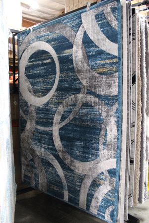 5 x 7 Area Rug, BLUE THUNDER for Sale in Norwalk, CA