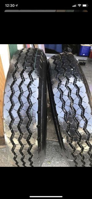 2 Michelin 8 R 19.5 XZA RV tires NEW never used. for Sale in Bell Gardens, CA