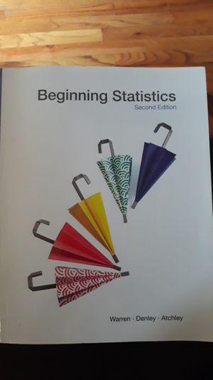 Beginning Statistics for Sale in Tulsa, OK