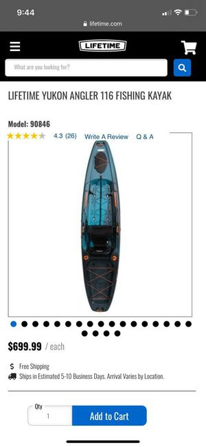 Fishing kayak for Sale in Miami, FL