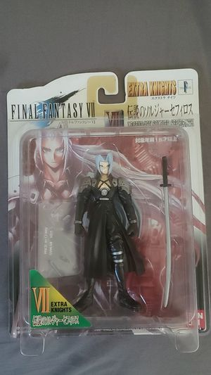 Final Fantasy VII 7 Sephiroth Extra Knight Collectable Action Figure for Sale in Dallas, TX