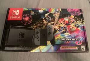 Nintendo Switch Console Mario Kart 8 Deluxe (Limited Edition) for Sale in Plantation, FL