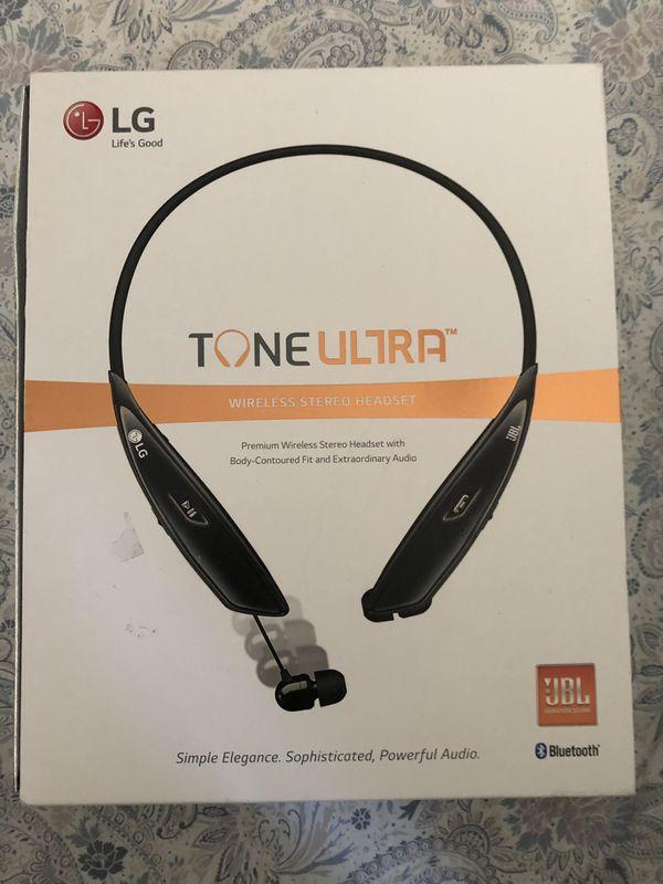 LG Tone Ultra wireless headphone