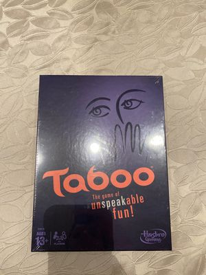 Taboo Board Game NEW in box for Sale in Aventura, FL