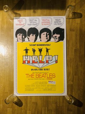 """The Beatles Poster - Help - 24"""" X 36"""" - Mint Condition for Sale in Burien, WA"""