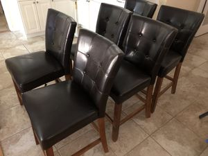 6 Counter Height Chairs for Sale in Whittier, CA
