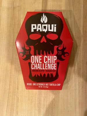 Pacqui 2020 One Chip Challenge - LIMITED - SOLD OUT ONLINE for Sale in Seattle, WA