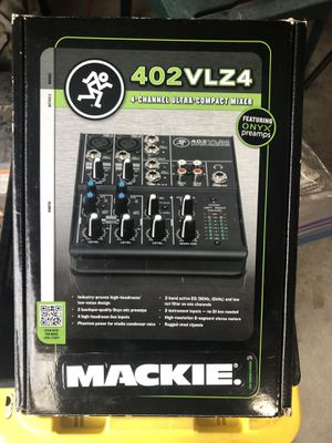 Mackie mixer for Sale in Tacoma, WA