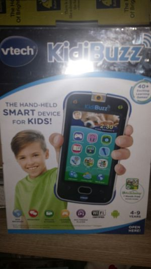 Vtech KidiBuzz- the handheld smart device for kids!!! for Sale in Arivaca, AZ