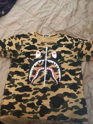 BAPE All Over Camo Shirt for Sale in Atlanta, GA