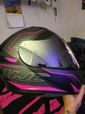 HOT PINK & BLACK CUTE MOTORCYCLE GEAR MATCHING SET *DEAL* for Sale in Corona, CA
