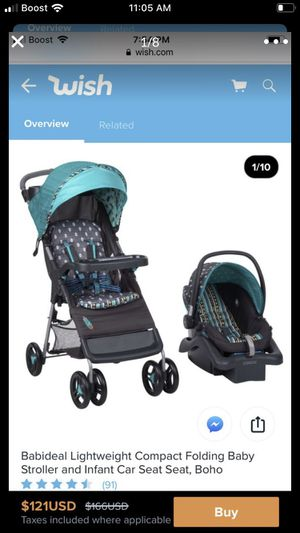 SALE! $70 3 IN 1 CAR SEAT AND STROLLER LIKE NEW WITH BOX for Sale in Oakland, CA