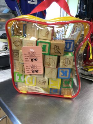 ABC's Wooden Blocks for Sale, used for sale  Matawan, NJ