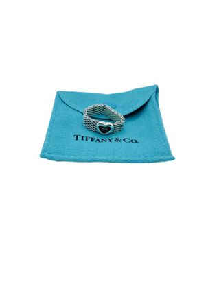 Tiffany and Co heart Mesh Ring for Sale in Alexandria, VA