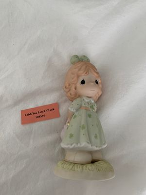 Precious Moments Porcelain Figurine: I-rish You Lots of Luck for Sale in Tampa, FL
