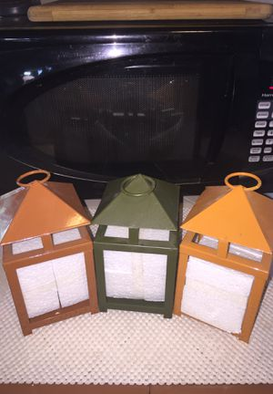"""3 tea candle holders. 3""""x 6"""". New for Sale in Fresno, CA"""