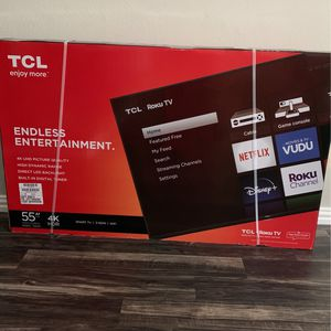 55 Inch 4K ROKU TV for Sale in Fort Worth, TX