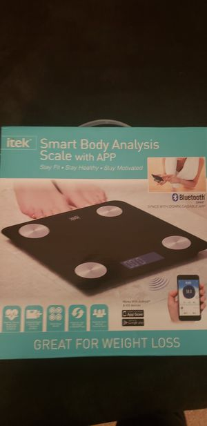 Smart body analysis scale for Sale in Costa Mesa, CA