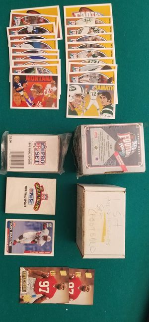 Vintage Football Card Collection for Sale in Garner, NC