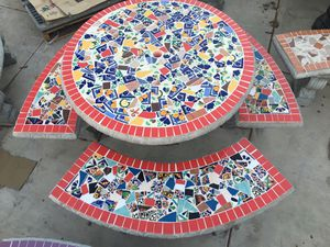 Concrete Patio Table for Sale in Bloomington, CA