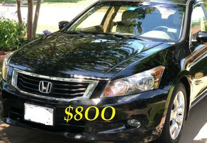 ✅🟢💲8OO I'm selling URGENT! 2OO9 Honda Accord Runs and drives great.Clean title in hand! Mechanically perfect!🟢✅very strong V6.✅✅ for Sale in Washington, DC
