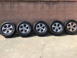 Jeep Wrangler Sahara 2018 jk wheels & tires for Sale in La Mirada, CA