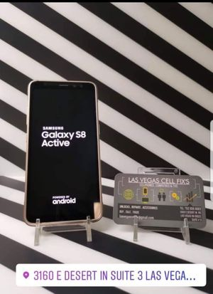 Samsung galaxy s8 Active factory unlocked for Sale in Las Vegas, NV