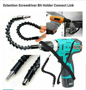 BRAND NEW Electronics Drill Black 295mm Flexible Shaft Bits Extention Screwdriver Bit Holder Connect Link for Sale in Winchester, VA