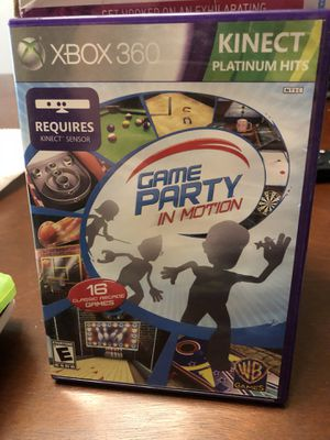Xbox 360 game party in motion for Sale in Auburndale, FL