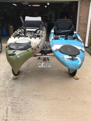 Kayak an trailer package new price for Sale in Winston-Salem, NC