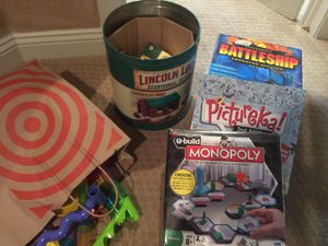 Toys and game lot for kids and families for Sale in Bloomington, MN