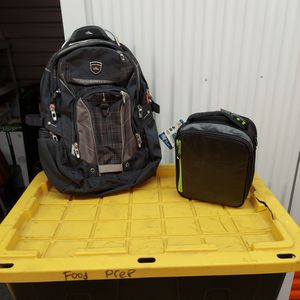 Brand New Backpack And Lunch Box Bag Combo for Sale in Roseville, CA