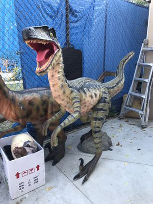 DINOSAUR PROPS for Sale in Whittier, CA