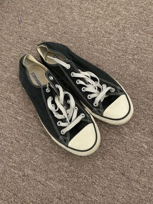 Converse Black & White Hipster Shoes Size 7.5 Men's - 9.5 Women's for Sale in Miami, FL