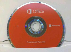 Microsoft Office 2016 Professional Plus for Sale in Detroit, MI