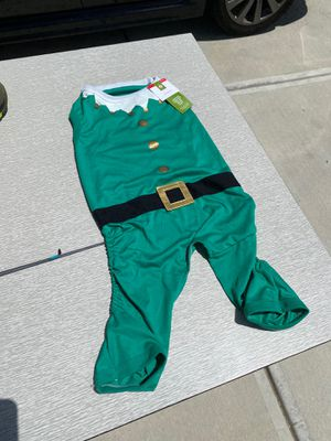 New never used elf puppy / dog costume onesie for Sale in Knightdale, NC