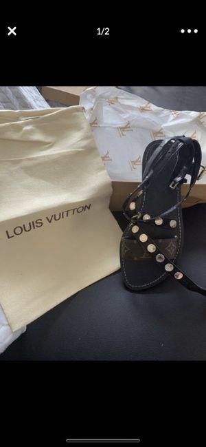 Louis Vuitton sandals for Sale in Williamsburg, VA