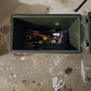 Ammo Box With Stuff for Sale in SeaTac, WA