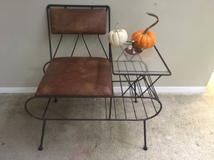 Mid century telephone table for Sale in Edmonds, WA