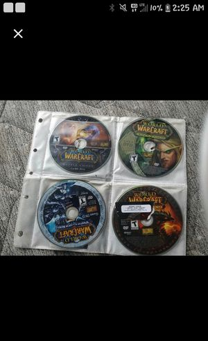 World of Warcraft pc games for Sale in Broxton, GA