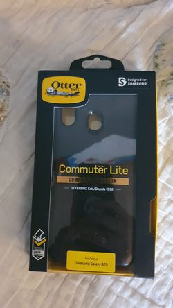 Samsung galaxy A20 otterbox case for Sale in East Wenatchee,  WA