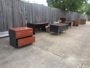 Office Furniture For Sale $100 minimum for Sale in Houston, TX
