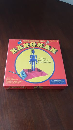 Hangman board game for Sale in Murfreesboro, TN