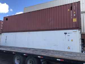 40' HC containers-wwt/ CW for Sale in Miami, FL