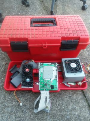 Computer parts and toolbox for Sale in Nashville, TN
